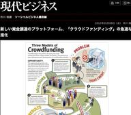新しい資金調達のプラットフォーム「クラウドファンディング」